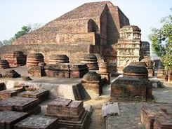 Ruins of Nalanda University in the Indian state of Bihar | Credit: Wikimedia Commons