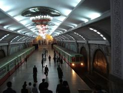 Picture: Pyongyang Metro | Credit: Wikimedia Commons