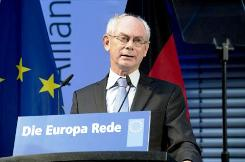 Photo: European Council President Van Rompuy | Credit: consilium.europa.eu