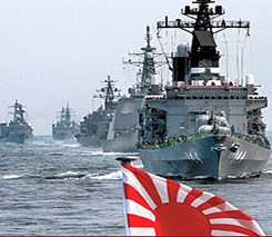 Talk of changing the constitution raises fear as Japan's Maritime Self Defense Force is the third largest navy in the Asian-Pacific | Credit: yaleglobal.yale.edu