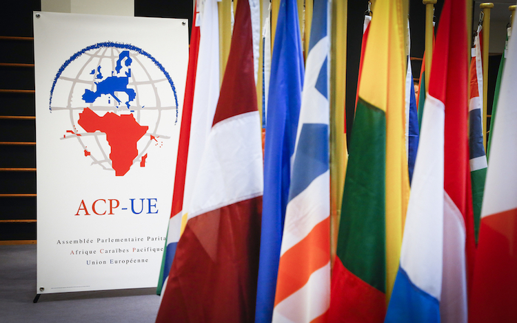 Photo: The 35th plenary session of the ACP-EU Joint Parliamentary Assembly in Brussels from June18-20, 2018, in the presence of MEPs and their counterparts from the national parliaments of African, Caribbean and Pacific (ACP) countries. Credit: multimedia.europarl.europa.eu