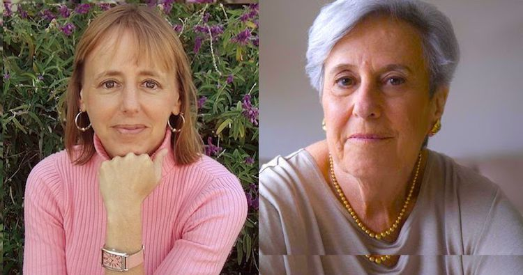 Photo: Medea Benjamin (left) and Alice Slater (right). A collage by INPS-IDN.
