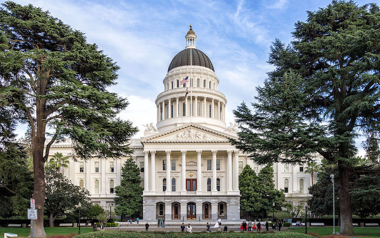 Photo: California State Capitol. Credit: Wikimedia Commons.