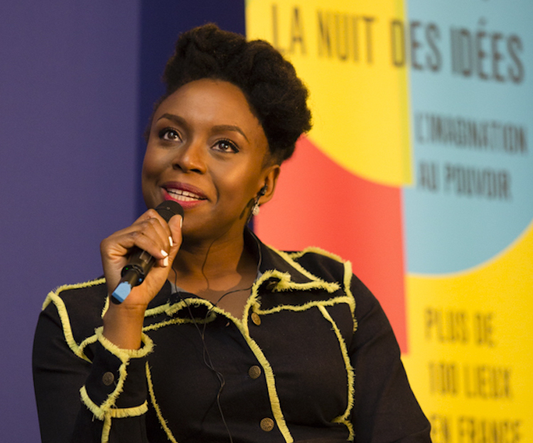 Photo: Writer Chimamanda Ngozi Adichie. Credit: V. Lebrun-Verguethen