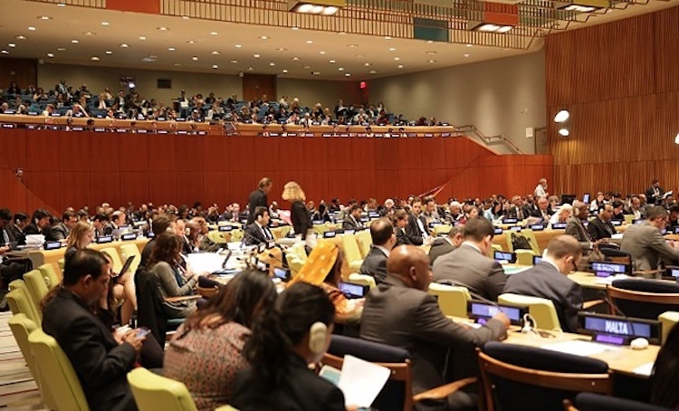 Photo: ECOSOC Forum on Financing for Development. Credit: UN