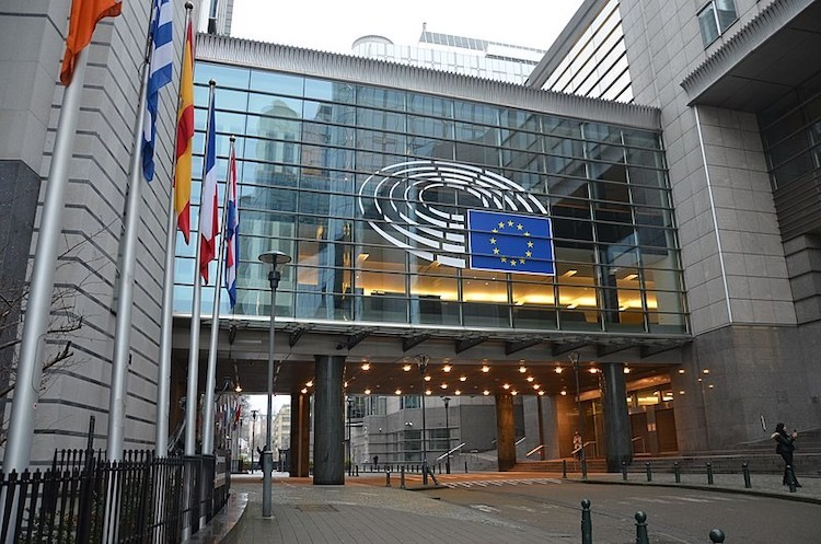 Photo: European Parliament Brussels. Credit: The Brussels Times.