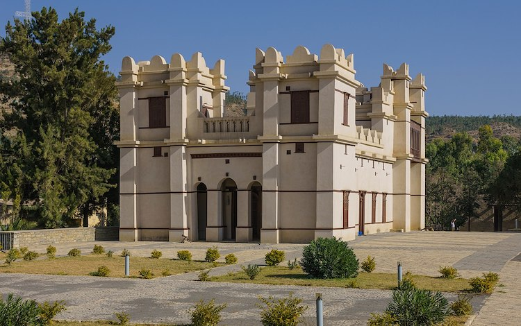 Photo: Mekelle palace of Emperor Yohannes IV (emperor of the whole Ethiopian Empire). Credit: Alexander Savin, Wikimedia Commons.