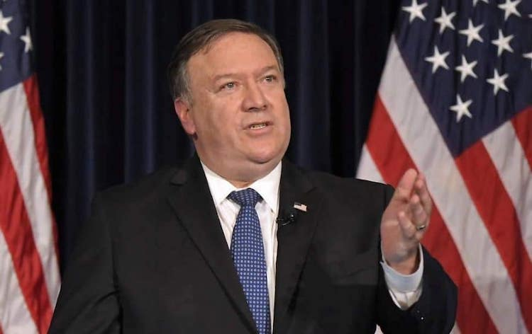 Photo: The U.S. Secretary of State Mike Pompeo assured that Washington is serious about pursuing peace in Afghanistan as efforts are underway to revive direct talks between Taliban and Afghan government to end the ongoing violence in Afghanistan. Credit: The Khaama Press News Agency