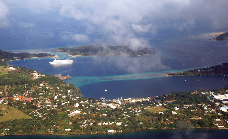 Photo: The panorama of Port Vila, capital and largest city of Vanuatu. CC BY 2.0