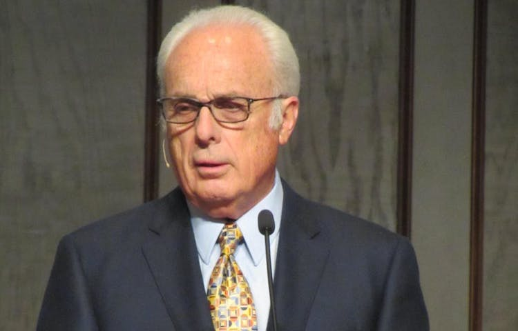 Photo: Reverend John MacArthur. Credit: Wikimedia.