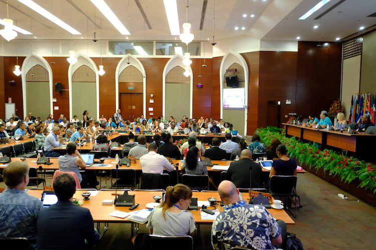 Photo: SIDS meeting in Apia, Samoa. Credit: UN Office of the High Representative for the Least Developed Countries, Landlocked Developing Countries and Small Island Developing States.