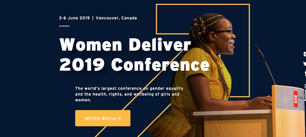 Photo credit: Women Deliver 2019 Conference