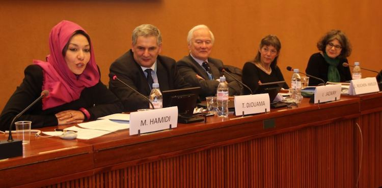 Photo: Panel Debate about Veiling/Unveiling at UN Office in Geneva