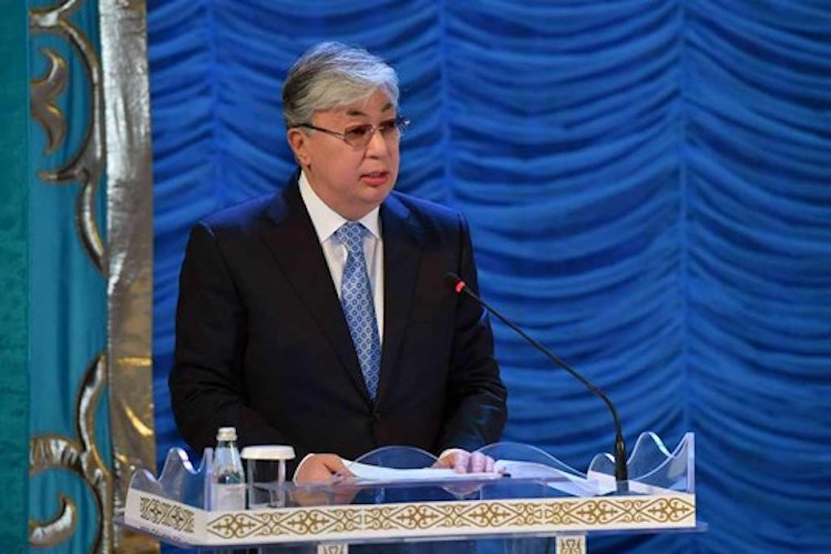 Photo: Kassym-Jomart Tokayev, Chairman of the Senate of the Parliament of Kazakhstan and Head of the Secretariat of the Congress of the Leaders of World and Traditional Religions. Credit: The Astana Times.