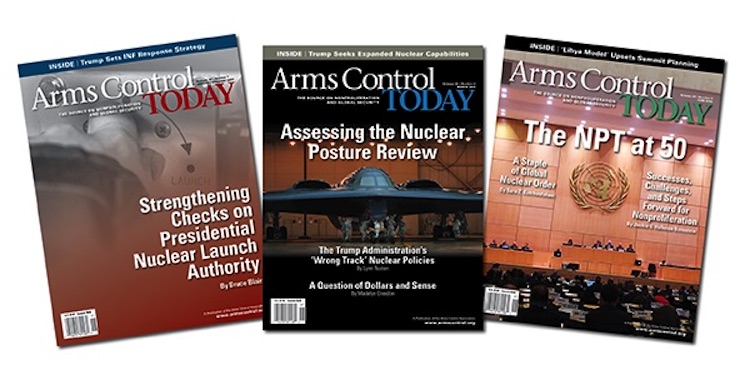 Image credit: Arms Control Association