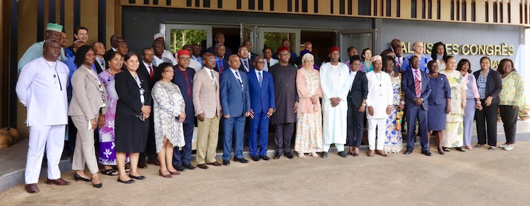 Photo: ACP Group's ministers of culture. Credit: ACP.