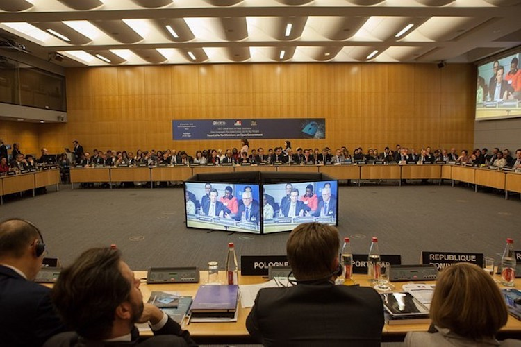 Photo: African Union meeting end of January. Credit: Voices for Transparency