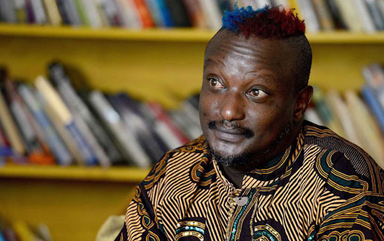 Photo: Kenyan author Binyavanga Wainaina in Nairobi, Kenya, on January 27, 2014. Source: The East African