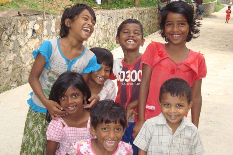 Photo: Children, highly vulnerable to COVID-19, look to the future with optimism. Credit: Dilrukshi Handunnetti.