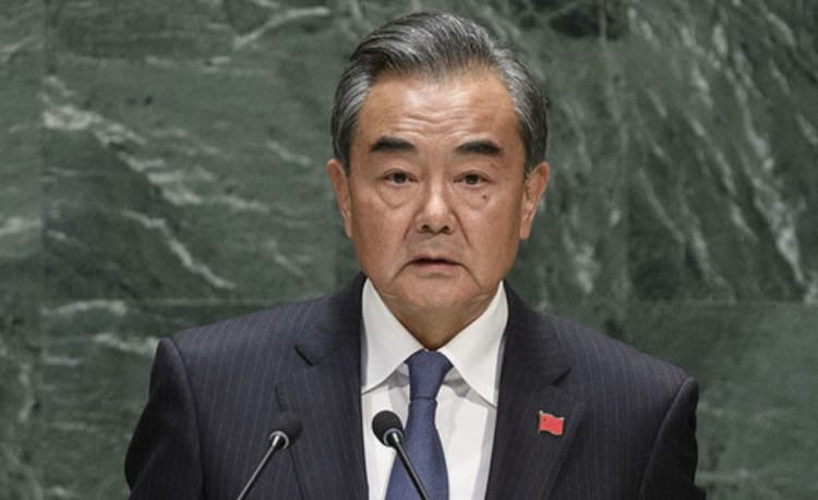 Photo: Wang Yi, Minister of Foreign Affairs of The People's Republic of China, speaking at the General Debate of the 74th Session of the United Nations General Assembly in New York on  27 September 2019. UN Photo | Loey Felipe