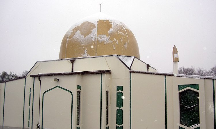 Photo: Canterbury Mosque in Christchurch, New Zealand. Credit: Wikimedia Commons.