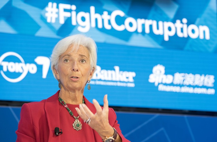 Photo: Outgoing IMF Chief Christine Lagarde. Source: IMF Flickr