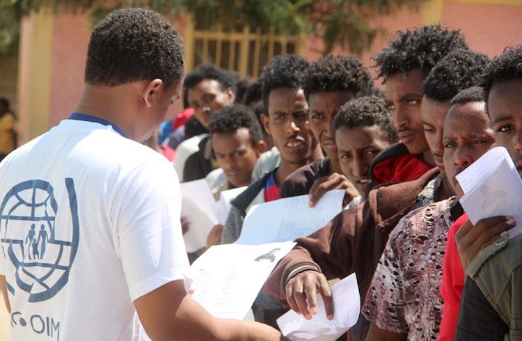 Photo: Eritrean refugees in Ethiopia. Credit: IOM – UN Migration