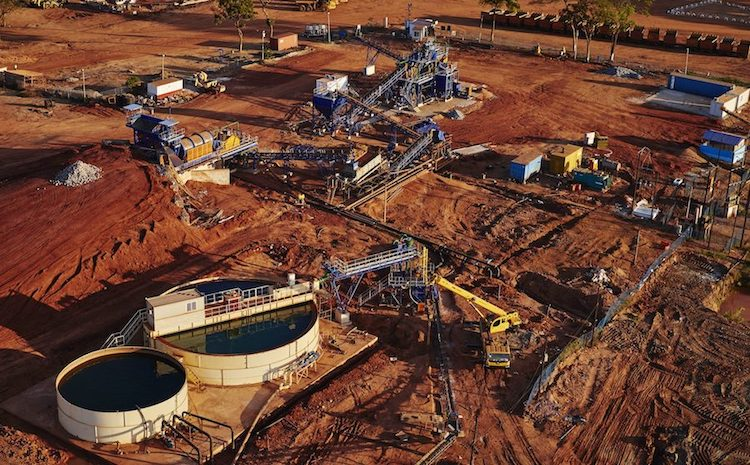 Photo: Open-pit mine Montepuez, considered the world's most lucrative ruby operation. Source: Gemfields