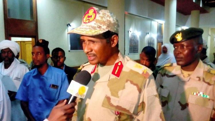 "Photo: Maj Gen Mohammed Hamdan Dagalo has emerged as the second-most powerful man in Sudan after the overthrow of Omar Al Bashir. Western officials privately describe him as ""potentially Sudan's Sisi,"" a reference to Egyptian general-turned-president Abdel Fattah al-Sisi who came to power in 2013 in a UAE-Saudi-supported military coup. Source: The National, UAE."