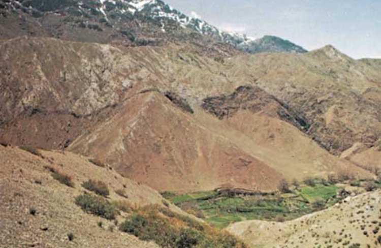 Photo: Tichka Pass in the High Atlas mountains, Morocco. Credit: Britannica Researchers