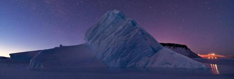 Photo: Iceberg in North Star Bay, Greenland. Credit: NASA's Earth Observatory