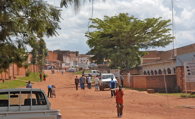 Photo: A street in Gitega. CC BY 2.0.