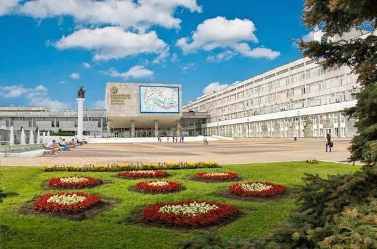 Photo: Main Building of the Peoples Friendship University in Moscow. Courtesy of PFUR University.