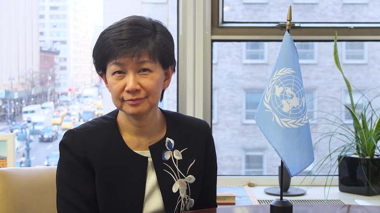 Photo: Izumi Nakamitsu, UN Under-Secretary-General and High Representative for Disarmament Affairs. Credit: UN