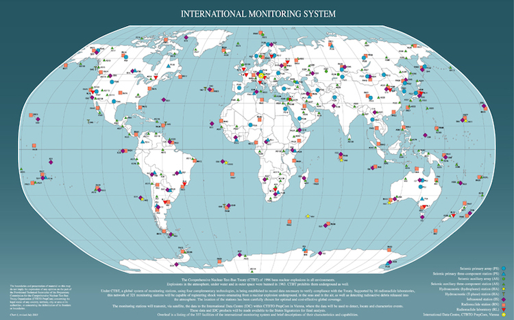 Image: More than 300 International Monitoring System (IMS) facilities certified out of the 337 the CTBTO has planned are already in operation. Credit: CTBTO.