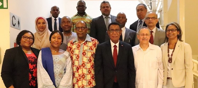Photo: New Committee of Ambassadors of the ACP Group.