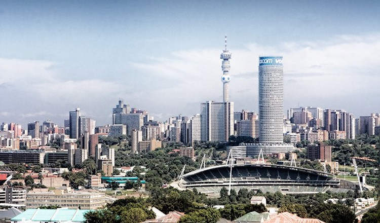 Photo: Johannesburg, the largest and wealthiest city in South Africa. Source: Africa Facts.