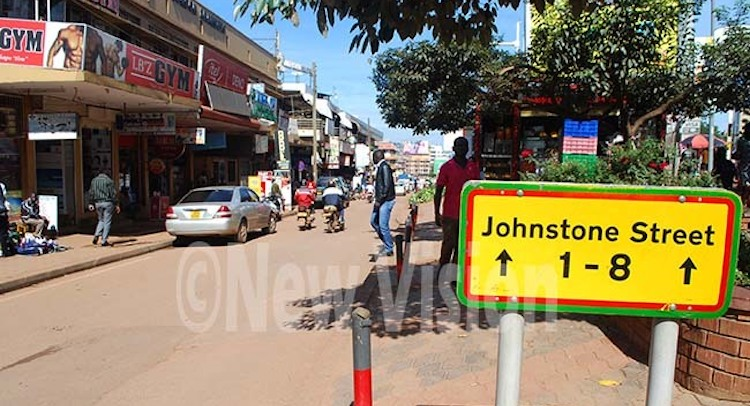 Photo: A number of roads, mostly in the affluent suburbs of Kampala, derive their names from personalities of the British occupation era. Credit: New Vision.
