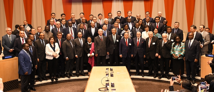Photo: High-Level Meeting participants. Credit: Kazakh Permanent Mission to the UN