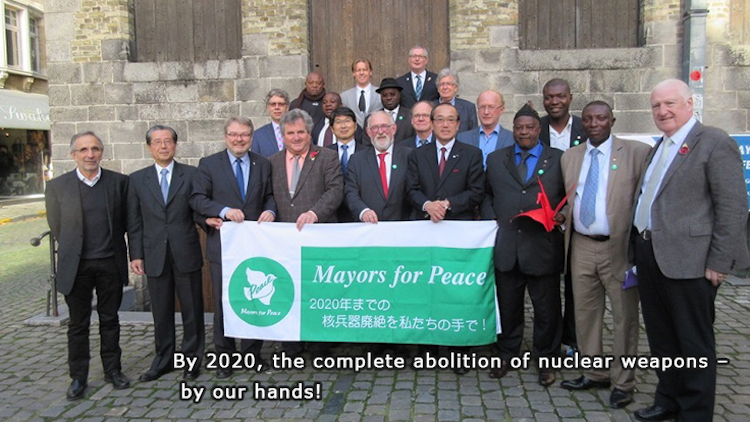 Photo credit: Mayors for Peace