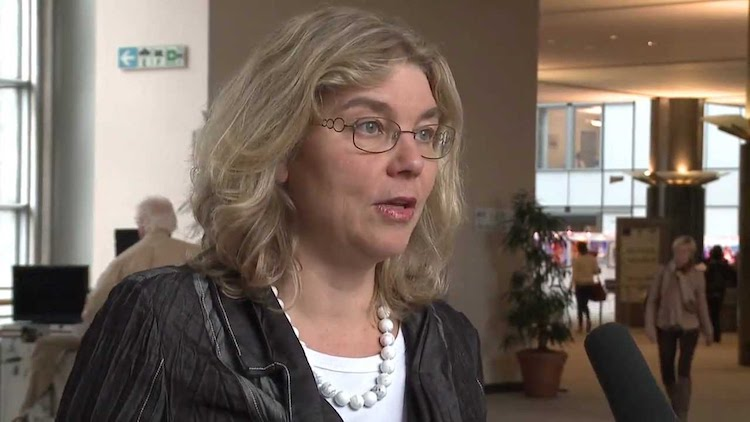 Image: Mirjam van Reisen in YouTube on Human Trafficking in the Sinai.