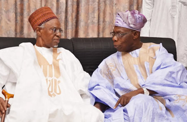 Photo: Shehu Shagari (left) and Olusegun Obsanjo (right). Credit: Nigerian Tribune