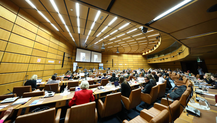 Photo: A general view of the Vienna UN Conference. Credit: Robert Bosch AG/APA-Fotoservice/Schedl