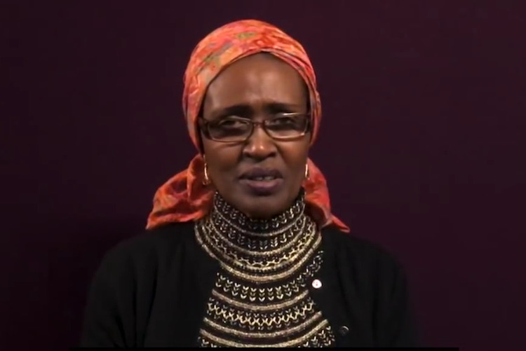 Image:  Snapshot of Oxfam International's Executive Director, Winnie Byanyima, addressing the reports of exploitation and abuse in Oxfam's humanitarian responses.