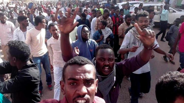 Photo: Anti-government protests have rattled Sudan after the government tripled the price of a loaf of bread. Credit: nileinternational.net