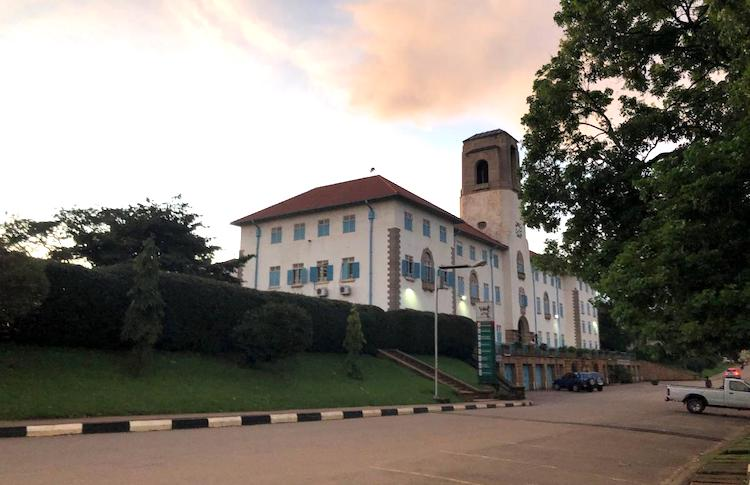 Photo: The campus of Makerere University in Kampala, Uganda. © 2019 Oryem Nyeko for Human Rights Watch