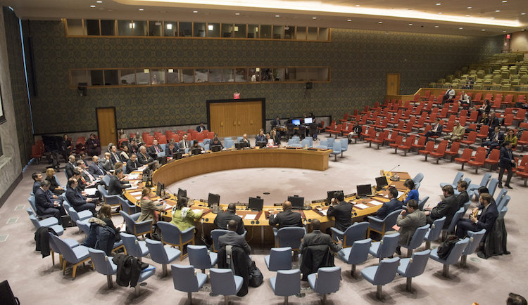 Photo:  UN Security Council debates on Afghanistan and Central Asia. Credit: UNAMA.