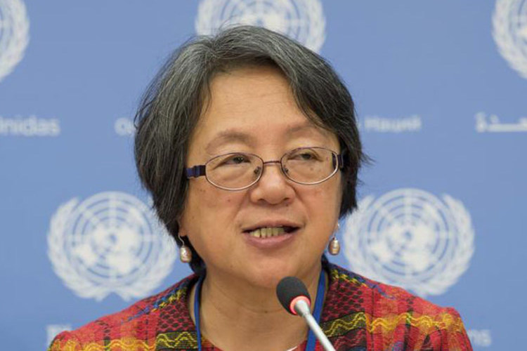 Photo: Special Rapporteur on the rights of indigenous peoples Victoria Tauli-Corpuz. UN Photo/Eskinder Debebe